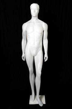 HP04 - Hombre Plástico Blanco
