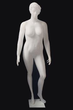 MP22 - Dama Plastico - Talle Especial - Blanco