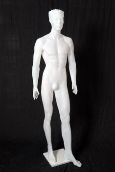 HP08 - Hombre Plástico Blanco