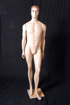 HP09 - Hombre Plástico Completo Maquillado