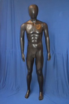 HP03 - Hombre Plástico Completo - Color Negro